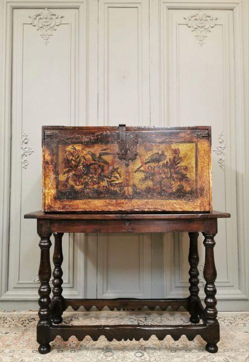 antiquités andelle cabinet espagnol début XVIIème