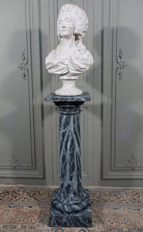 colonne faux marbre 1