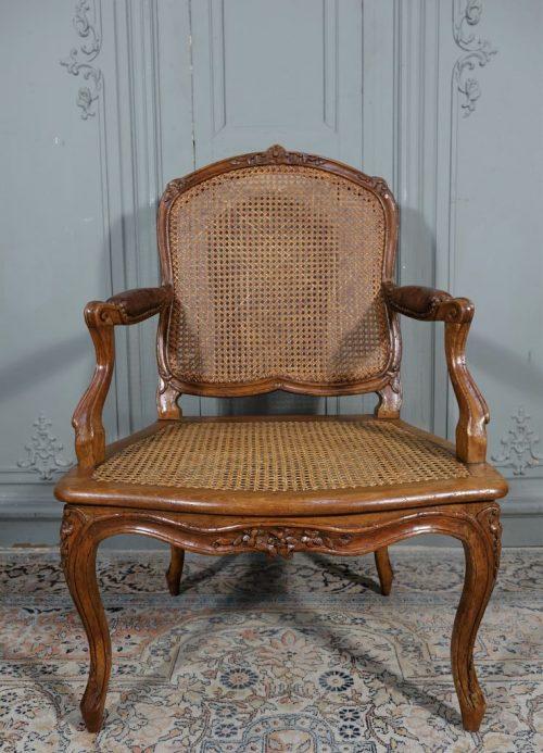 fauteuil canné 1